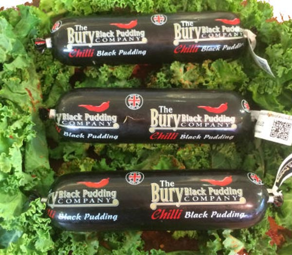 Chilli Black Pudding Stick