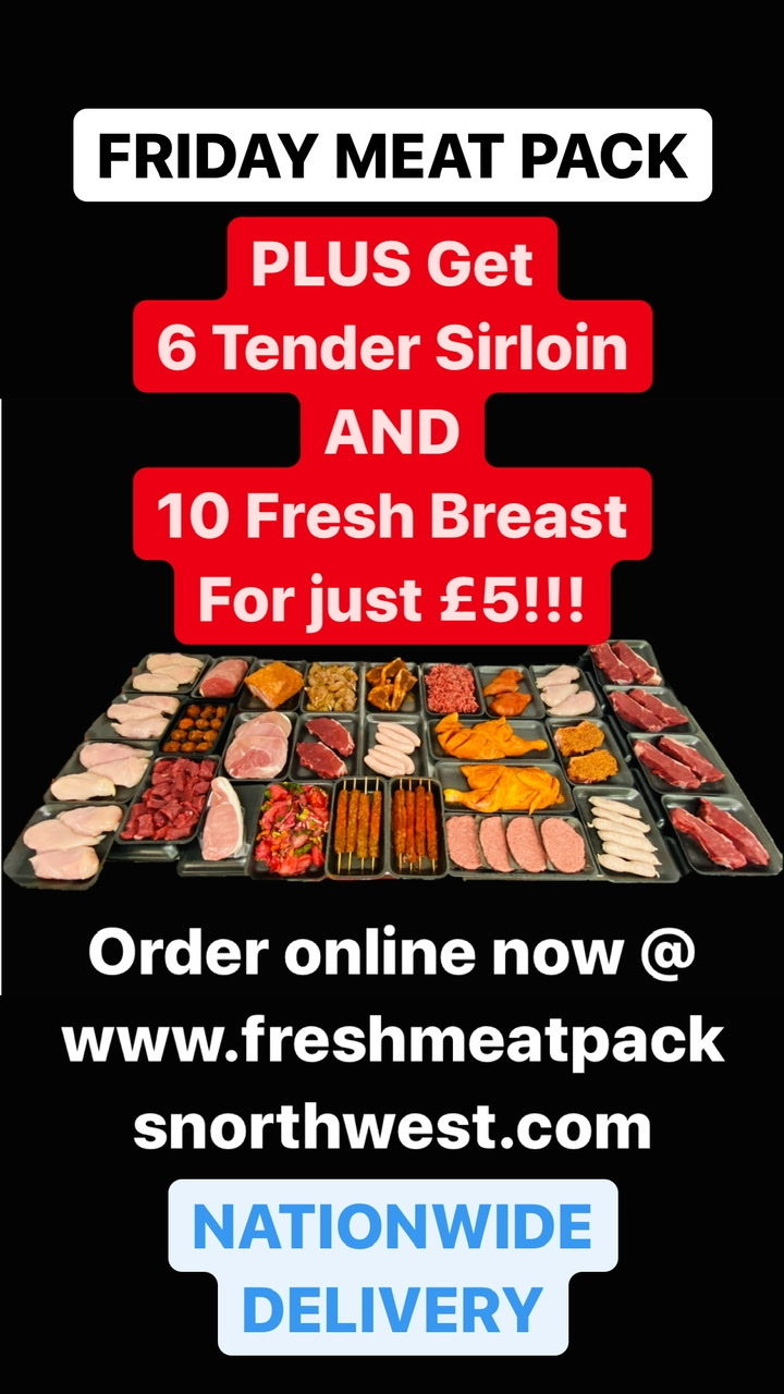FRIDAY MEAT HAMPER PLUS £5 ADD ON